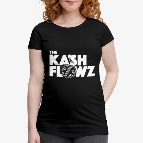 The Kash Flowz Official Bomb White - T-shirt de grossesse Femme