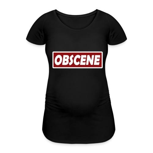 Obscene hat - Women's Pregnancy T-Shirt