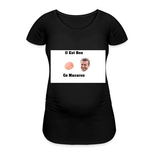 Il est bon ce Macaron - T-shirt de grossesse Femme