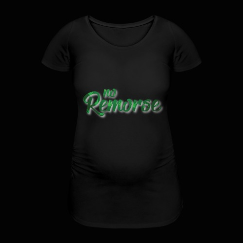 No Remorse Title With Weed No Background - Women's Pregnancy T-Shirt