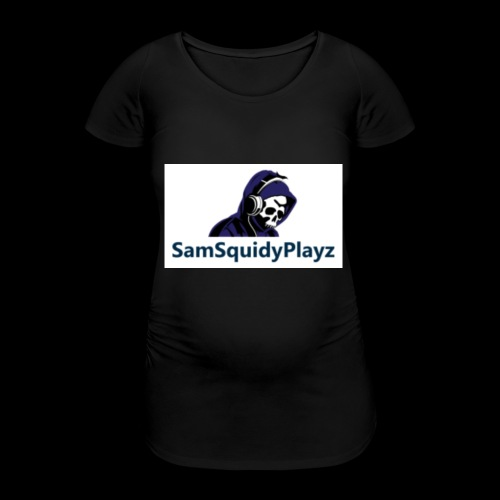 SamSquidyplayz skeleton - Women's Pregnancy T-Shirt