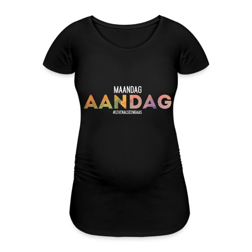 AANdag - Vrouwen zwangerschap-T-shirt