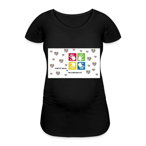 Extra's - Vrouwen zwangerschap-T-shirt