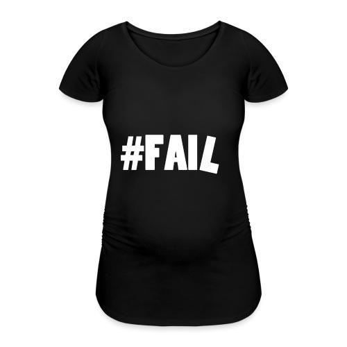 FAIL / White - T-shirt de grossesse Femme
