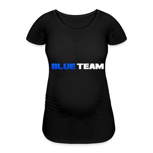 Blue Team - T-shirt de grossesse Femme