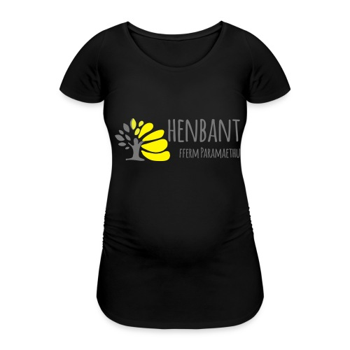 henbant logo - Women's Pregnancy T-Shirt