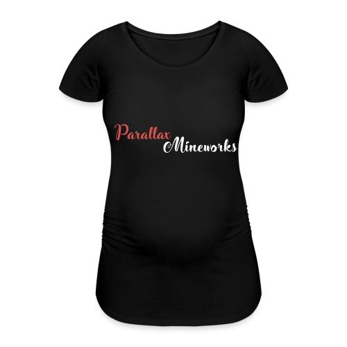 Parallax Mineworks logo - Women's Pregnancy T-Shirt