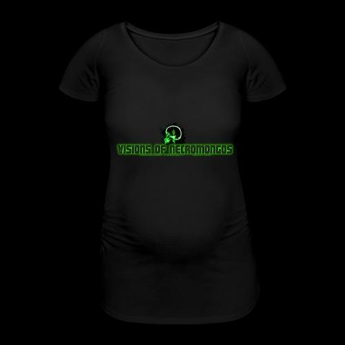 Necromongo Logo ONE - Frauen Schwangerschafts-T-Shirt