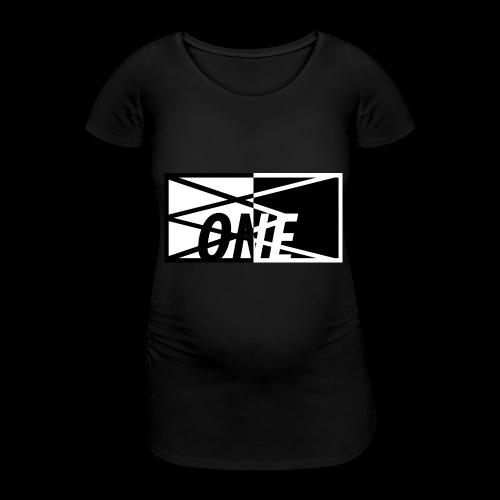 ONE FULL x BLCK - Vrouwen zwangerschap-T-shirt
