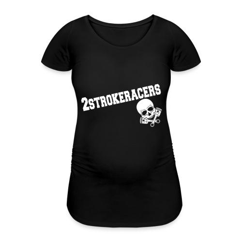 Kappen & Hauben - Frauen Schwangerschafts-T-Shirt