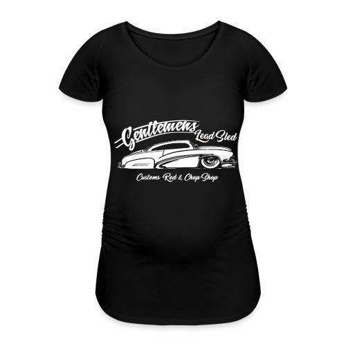 Gentlemans Lead Sled - Frauen Schwangerschafts-T-Shirt