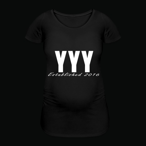 'Snapback Edition' YYY Apparel Design - Women's Pregnancy T-Shirt