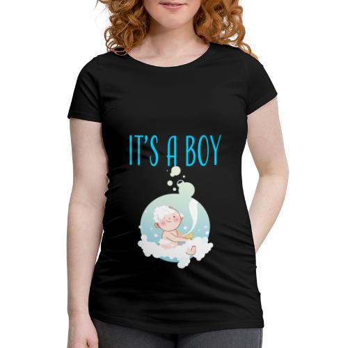 It's a Boy Badewanne. Witzige Umstandsmode T-Shirt - Frauen Schwangerschafts-T-Shirt