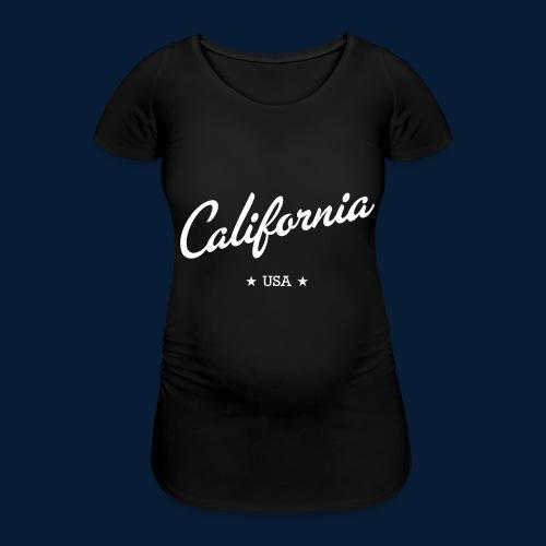 California - Frauen Schwangerschafts-T-Shirt