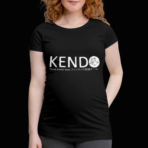 Finnish Kendo Team Text - Naisten äitiys-t-paita