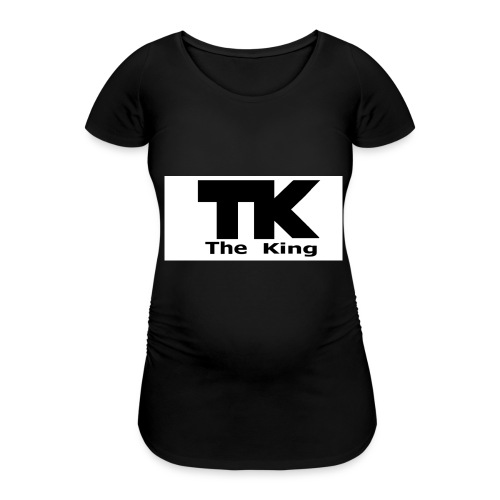 The King med ram - Gravid-T-shirt dam