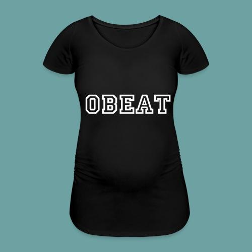 OBeat woord - Vrouwen zwangerschap-T-shirt