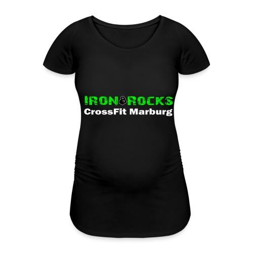 Schriftzug lang - Frauen Schwangerschafts-T-Shirt