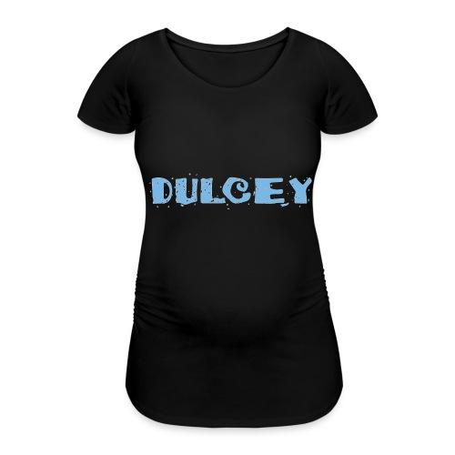dulcey logo - Frauen Schwangerschafts-T-Shirt