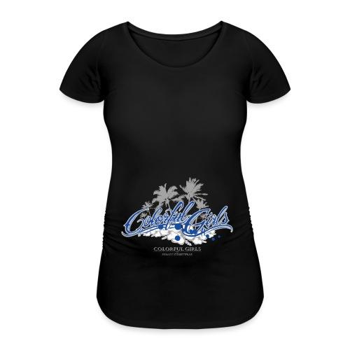 Colorful Girls Logo - Frauen Schwangerschafts-T-Shirt