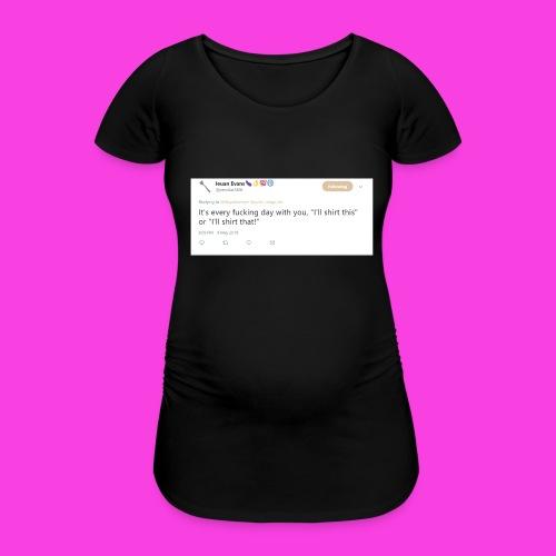 Ieuan Tweet - Women's Pregnancy T-Shirt