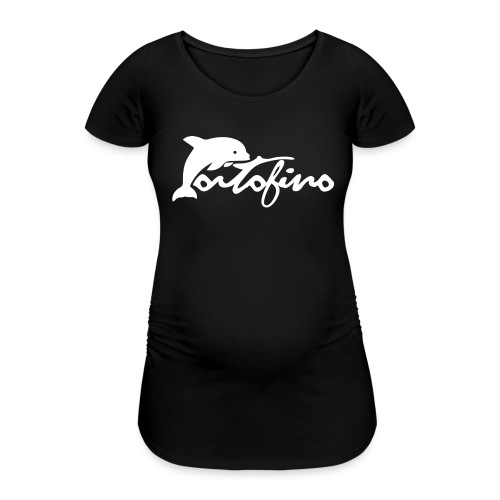 portofino 2019 WHITE - Women's Pregnancy T-Shirt