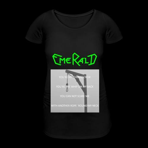 Emerald - Frauen Schwangerschafts-T-Shirt