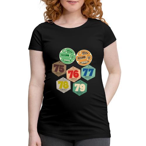 Vignettes automobiles années 70 - T-shirt de grossesse Femme