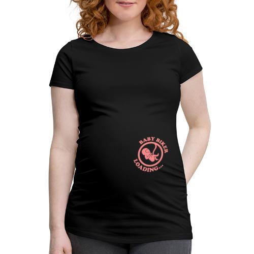 Baby Biker Loading... - Naisten äitiys-t-paita