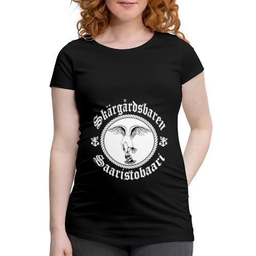 White Logo - Naisten äitiys-t-paita