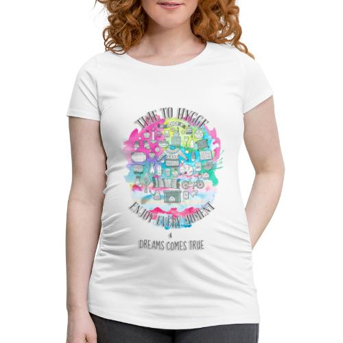 Time to Hygge - T-shirt de grossesse Femme