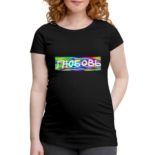 Ljubov värikäs - Naisten äitiys-t-paita