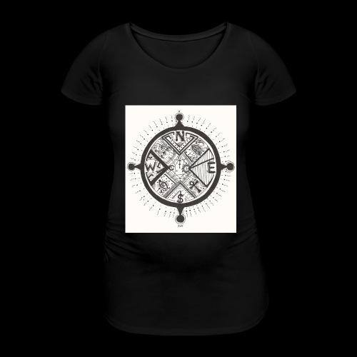 La Maison Des Mains Angel Cove - Women's Pregnancy T-Shirt