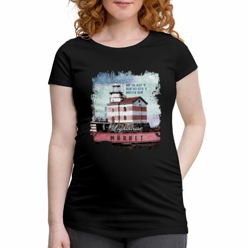 Märket majakkatuotteet, Finland Lighthouse, väri - Naisten äitiys-t-paita