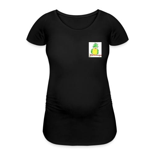 ANANASGUFO - Maglietta gravidanza da donna