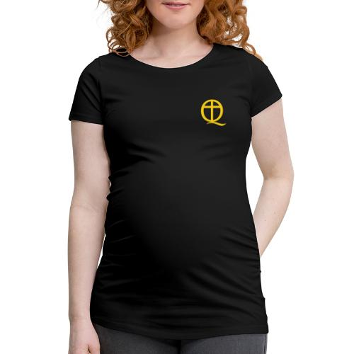 QC Gul - Gravid-T-shirt dam