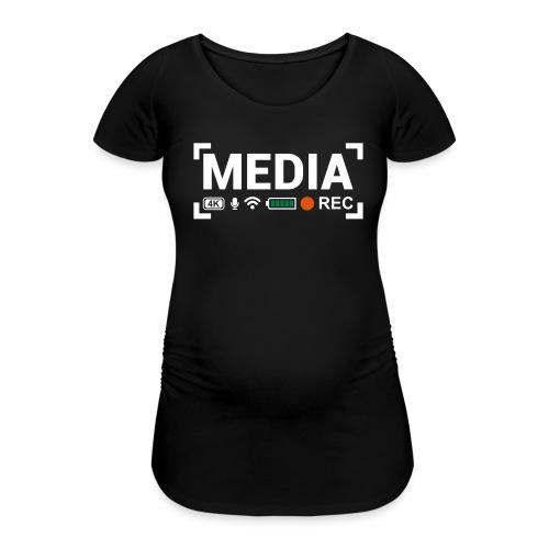 MEDIA Crew - Maglietta gravidanza da donna