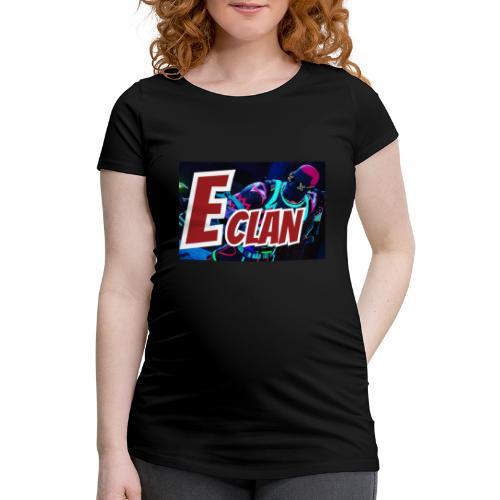 Elite x Clan Turnbeutel - Frauen Schwangerschafts-T-Shirt