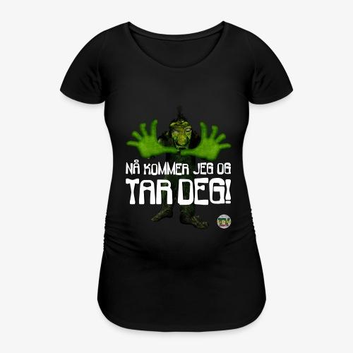 Troll - T-skjorte for gravide kvinner