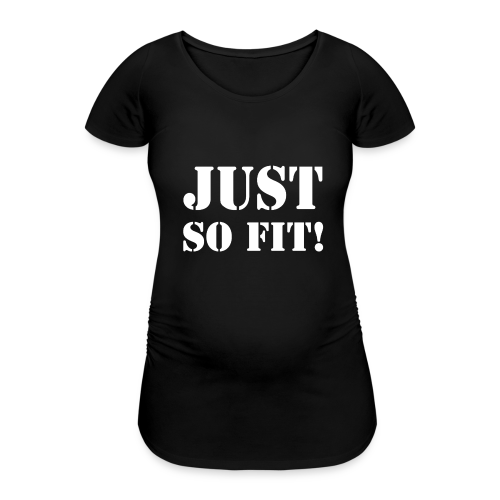 Just So Fit WHITE - T-shirt de grossesse Femme