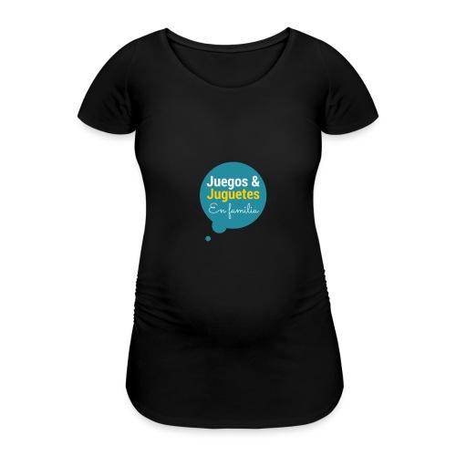 Logo Juegos y Juguetes en Familia - Camiseta premamá