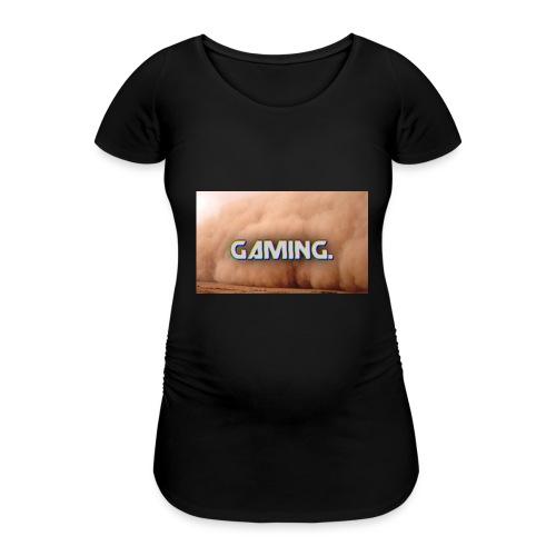 GamingDust LOGO - Women's Pregnancy T-Shirt