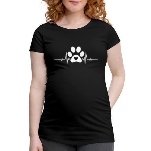 Fingerprint the dog - Camiseta premamá
