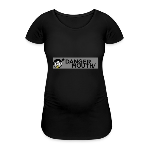 Danger-Mouth-Cases - Women's Pregnancy T-Shirt