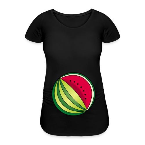 Melone Schmugglerin Babybauch schwanger Geschenk - Frauen Schwangerschafts-T-Shirt