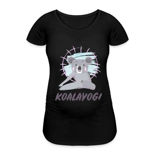 Koalayogi - T-skjorte for gravide kvinner