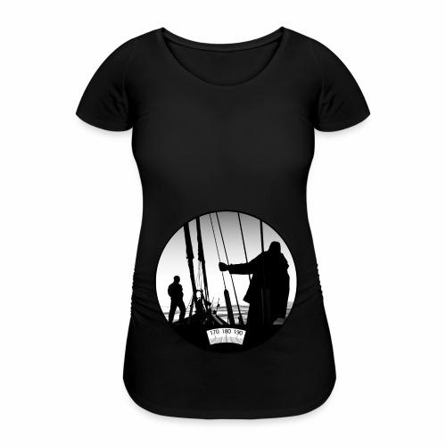 deck chair - Women's Pregnancy T-Shirt