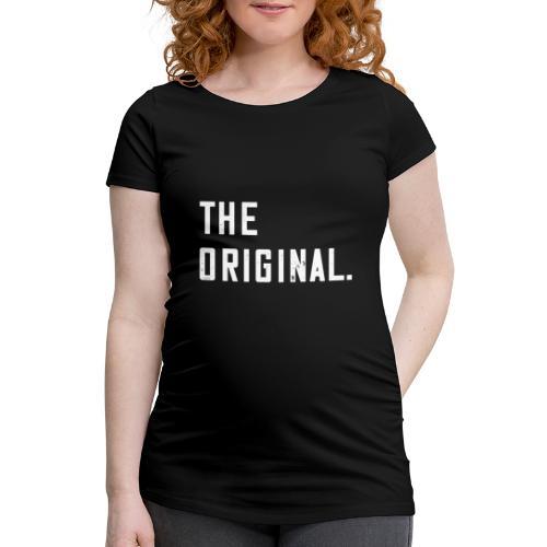 The Original T-Shirt Eltern Kind Paar Outfit - Frauen Schwangerschafts-T-Shirt