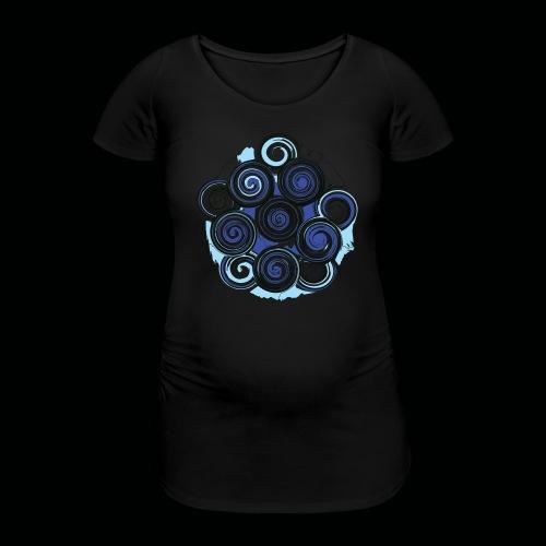 SPIRALE - Frauen Schwangerschafts-T-Shirt