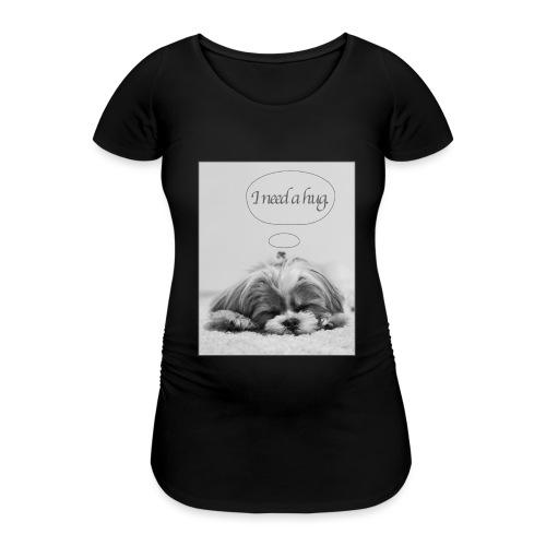 I Need A Hug: Phone Case - Women's Pregnancy T-Shirt